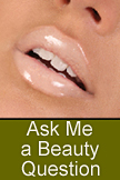 click here to ask me a beauty question